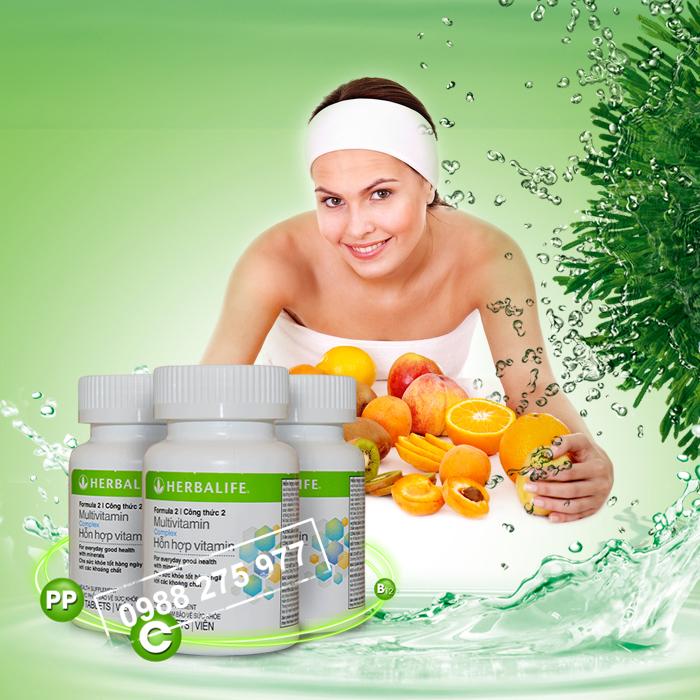 Hỗn hợp vitamin Herbalife F2