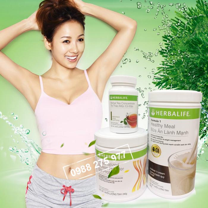 bộ 3 giảm cân cơ bản herbalife