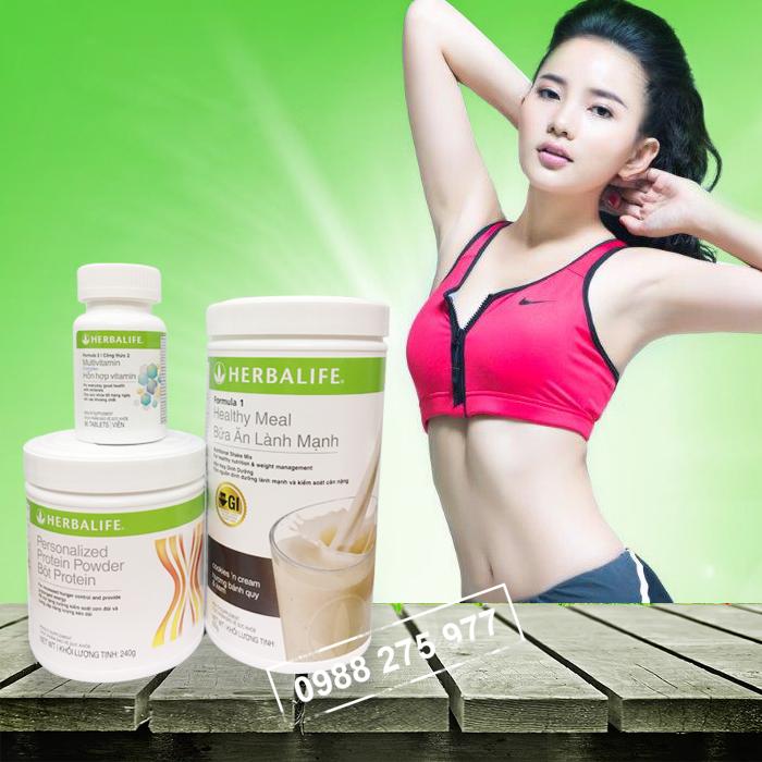 Bộ 3 sản phẩm Herbalife giảm cân