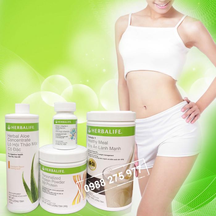 Bộ 4 sản phẩm tăng cân Herbalife