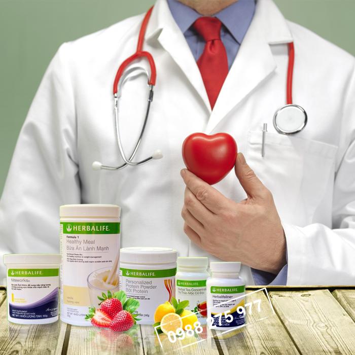 Bộ sản phẩm hỗ trợ tim mạch