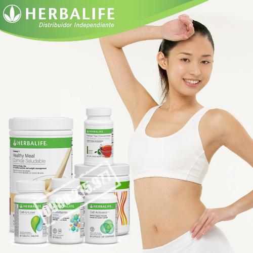Bộ 6 sản phẩm giảm cân hoàn hảo herbalife