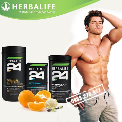 Bộ sản phẩm dinh dưỡng thể thao herbalife 24h