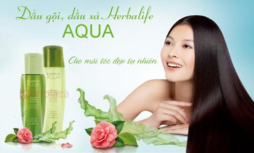Bộ dầu gội herbalife Aqua