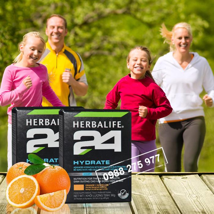 Herbalife 24 Hydrate Hương cam