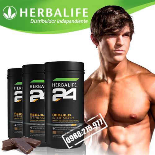 Herbalife 24 Rebuild Trength sản phẩm dinh dưỡng hồi phục cơ sau tập