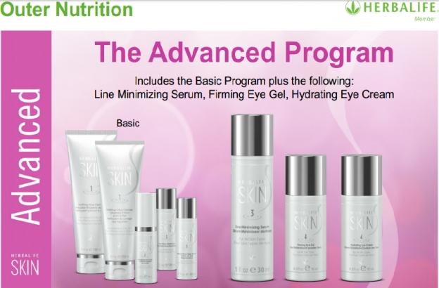 Bộ mỹ phẩm herbalife Skin