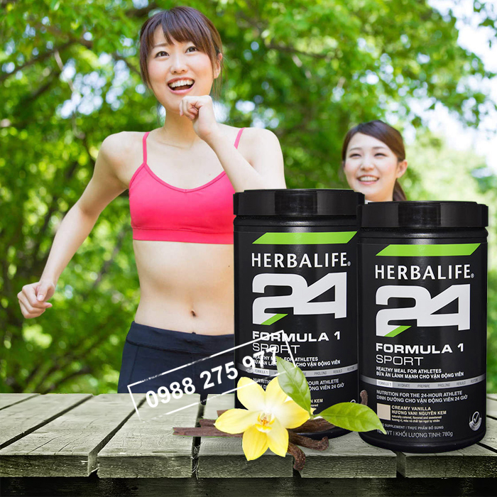 Hỗn hợp dinh dưỡng Herbalife Fomular Sport F1 hương vani