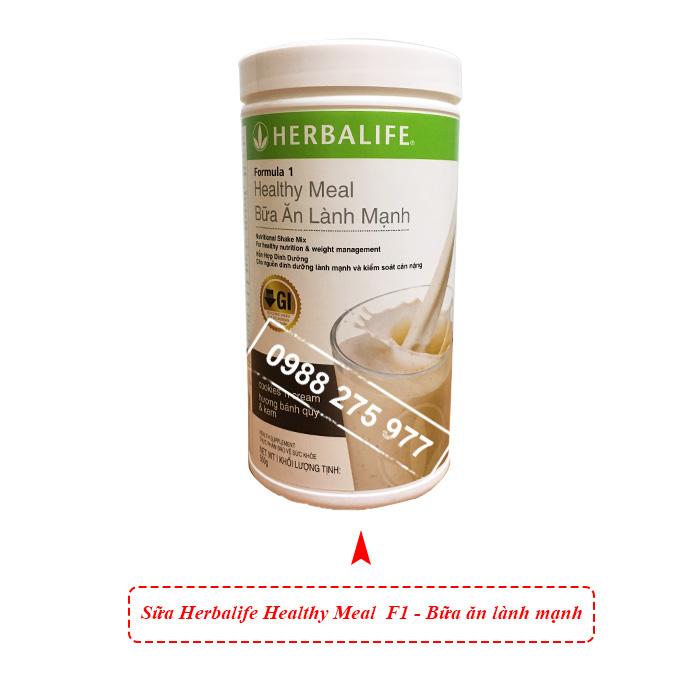 sữa f1 herbalife
